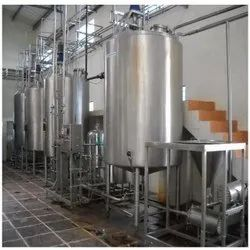 Automatic Carbonated Soft Drink Plant
