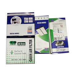 Air Green Medium Filter Cabin Air Filter, Packaging Type: Box