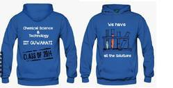 Blue Men Hoodies