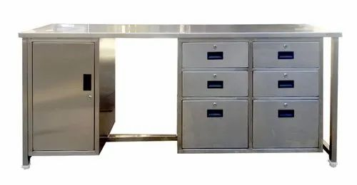 7 Drawer SS Tables