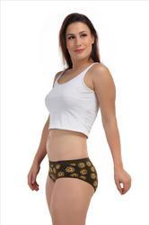 Sunny Lycra Cotton Printed Ladies Panty, Size: Small, Medium & Large