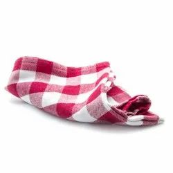 Red White Check Towel