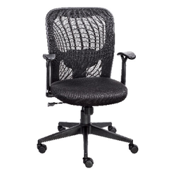 Black Mesh Workstation Chair