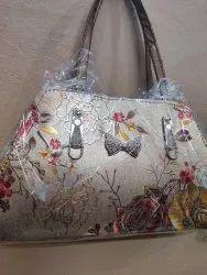 Handbags Polyester Ladies Flower Printed Handbag