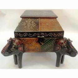 Bikaner House Wooden Handicraft Box
