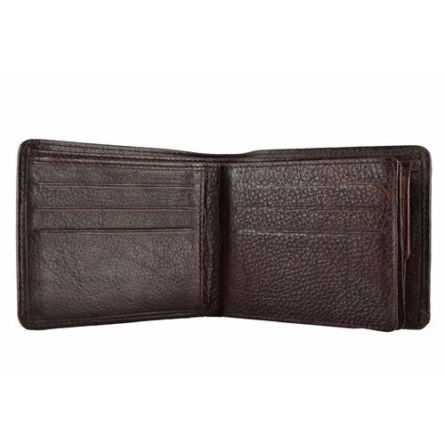 5f3d9c0beeb8 Men s Brown Pure Leather Wallet at Rs 275  piece