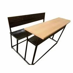 Perforated Sheet College Bench