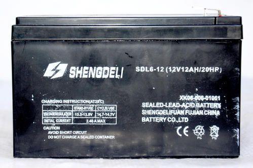 Shengdeli 12 Ah UPS Battery, Voltage: 12 V