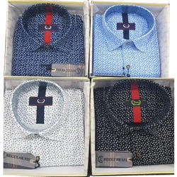 Cotton ,Printed Boys  Shirts, Size: Medium Also Available In Large, XL, XXL