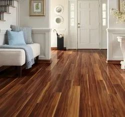 Action Tesa/Egger Multicolor Laminate Wooden Flooring Service, Thickness: 8/12