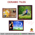 Wooden Frame Ceramic Tile