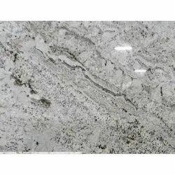 Polished White Galaxy Granite Slab, Thickness: 17 Mm