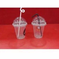Disposable Plastic Shake Glass