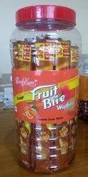 Candy Round Orange Wafer, Packaging Type: Jar