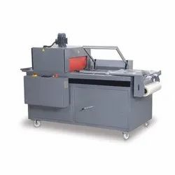Mild Steel Electric Semi Automatic Shrink Wrapping Machine, For Industrial