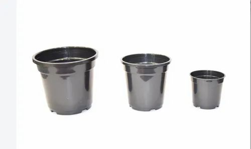 Plastic 5 and 6 Inch Nursery Pots for Home