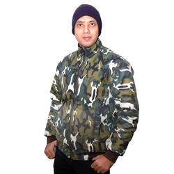 Mens Printed Military Jacket