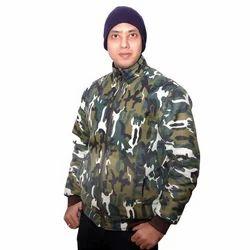 Mens Printed Military Jacket