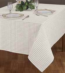 Table Spread With Woven