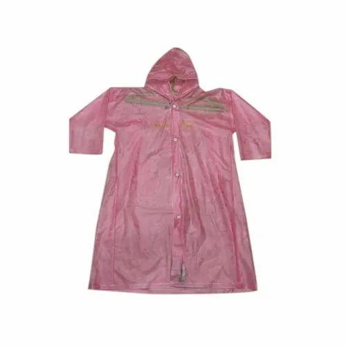 bc45002cd Ayu Women Stylish Pink Plastic Raincoat, Rs 185 /piece, Preeti ...