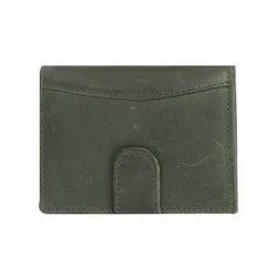 Green hunter Leather card