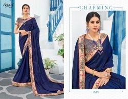 Stylish Fancy Designer Wear Saree