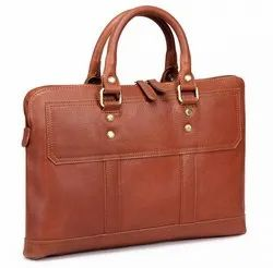 Women''S Leather Laptop Bag