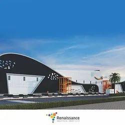 Warehouse Prefab E- COMMERCE FULFILLMENT CENTRE, Project Area - 456 Acres