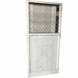 White Interior Aluminum Door