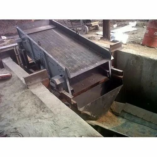 Iron Self-Centering Shaker Double Deck Vibrating Screen
