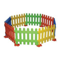 FRP Baby Fence Set, For Play Ground, Size: 1 Pc - 60 X 47 Cm