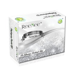 Reenee Platinum Facial Kit, Packaging Size: 210 Gram