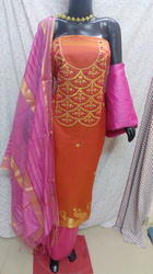Banarasi Gota Patti Yellow Suit