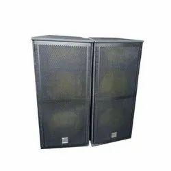 Dual 15 Inch Speaker Cabinet
