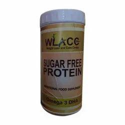WLACC Omega 3 DHA Sugar Free Protein Powder, 200gm
