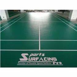 Indoor PVC Flooring PVC Badminton Court Flooring Service