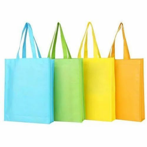 Non Woven Carry Bag With Handle Loop, Bag Size: 10 X 14 - 22 X 22 Inch