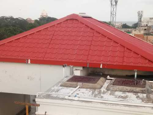Vrs Roofing Engineering Aluminium Color Coated Restaurant