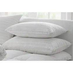 PAIR OF COT BED PILLOW CASE 16X24-WHITE 2 UNITS