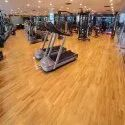 Teak Wood Gym Flooring