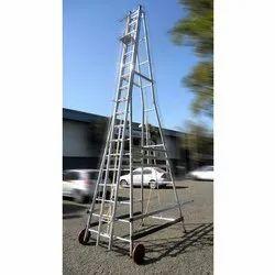 Trolley Wheeled Ladder