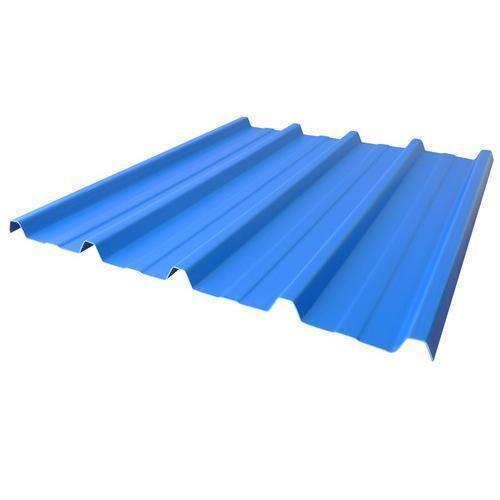 Pre Painted Trapezoidal Metal Profile Sheet ट्रैपेजॉयडल