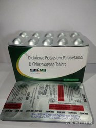 SUN MR ( Diclofenac Pot., Paracetamol & Chlorazoxazone)