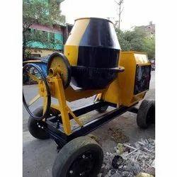 Warsi Automatic Small Concrete Mixer, Drum Capacity: 500 L