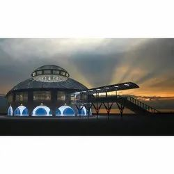 Space Frame Dome Roof Steel Strucures