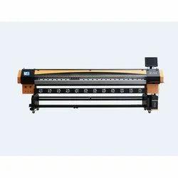 Solvent / Mild Solvent Ink Konica Flex Printing Machine