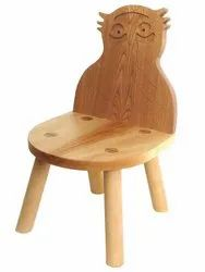 Wooden Kids Owl Chair