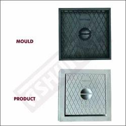 Square Manhole Cover Moulds - (300 x 300 x 30mm)