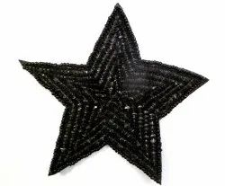 Star Beaded Patches