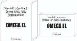 Omega 3 Fatty Acids, Vitamin E And L Carnitine Softgel Capsules